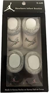 Michael Jordan Infant New Born Baby Booties Two Pairs
