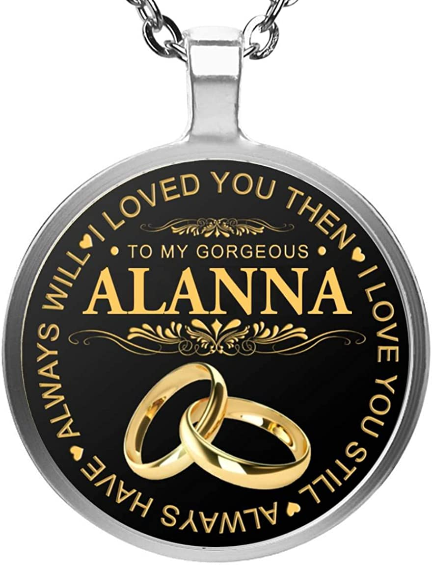 Custom Name Necklace Best Christmas Gift Idea for Women Girls Her Aliva Name Necklace Robin Name Necklace