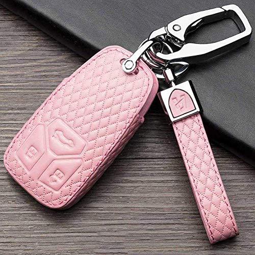 Funda para llave de coche de cuero para llave de coche, funda para llave de coche, para Audi A2 A3 A4 A6 Tt