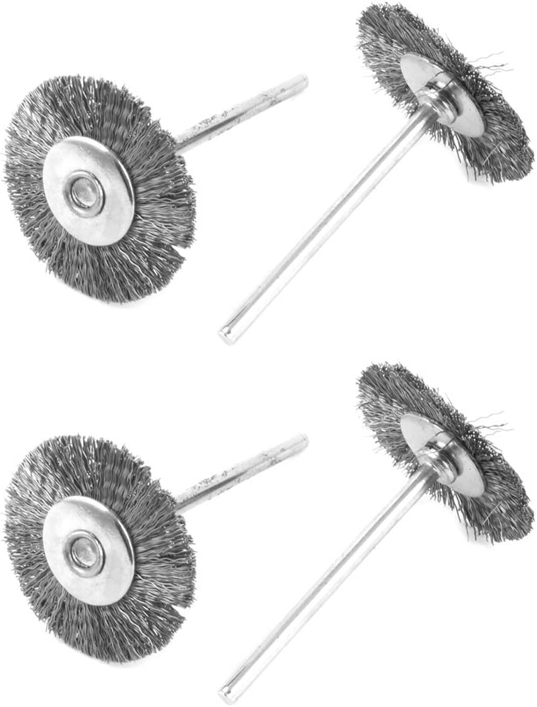Aexit Free Shipping New Metal T Abrasive Wheels Discs Shape Wire Crimped Wheel B OFFicial