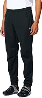 BALEAF Men's Bike Cycling Pants Fleece Athletic Pants Windproof Thermal Insulated Running Hiking Pants Zipper Pockets