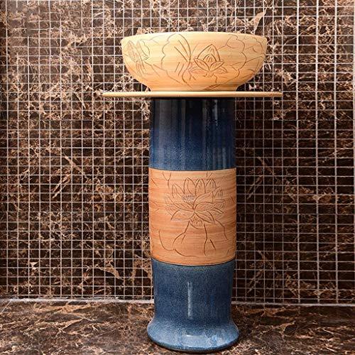Accessori per la vita quotidiana Lavabo in resina Lavello da incasso ovale in pietra naturale Lavello da bagno in vetro temperato per la casa Lavabo in ceramica Adatto per la famiglia del bagno del