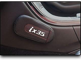 LLCWER 2 Pezzi di Accessori per Auto in Silicone per Auto Antiscivolo con Tappetino Antiscivolo per Infiniti Fx35 Q50 Q30 Esq Qx50 Qx60 Qx70 Ex Jx35 G35 G37 Ex3