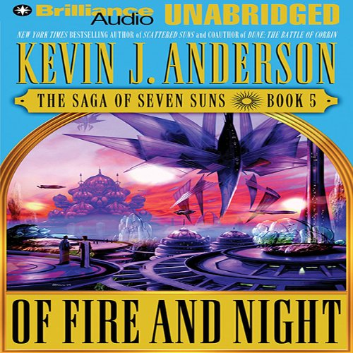 Of Fire and Night audiobook cover art
