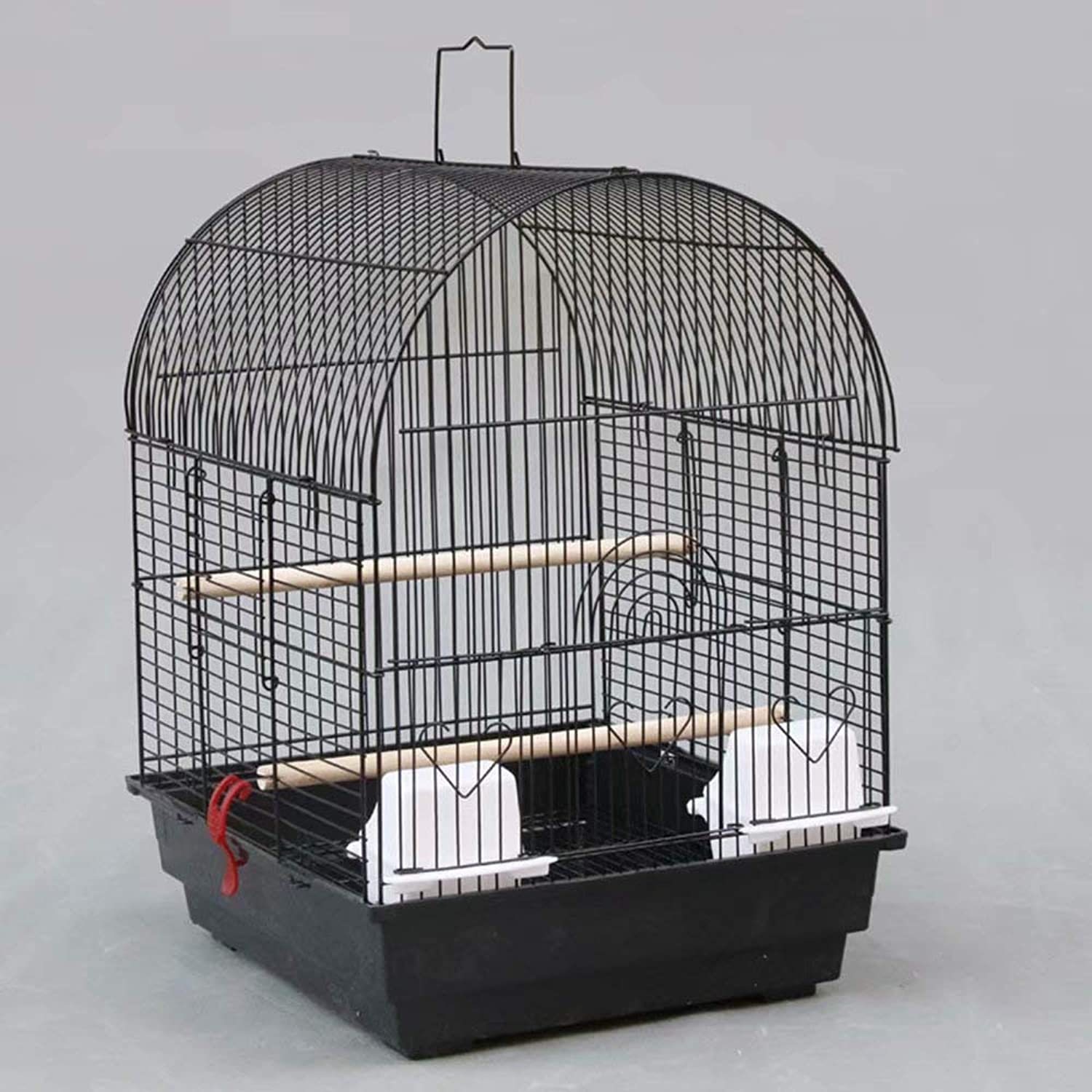 Bird Breeding Cage Aviary for African Grey Parreds Cockatiels Parakeets Black
