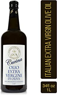 Roi Italian Extra Virgin Olive Oil - Cucina Olive Oil Imported from Italy, 34 fl oz (1 liter)