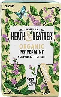 Heath & Heather, Tea Peppermint Organic, 20 Count