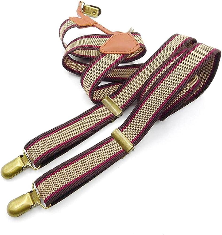 Suspender Elastic Suspenders Men And Women Straps Mens Braces