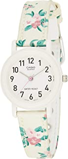 Casio Women's Quartz Watch, Analog Display and Leather Strap Lq-139Lb-7B2, Multicolour Band