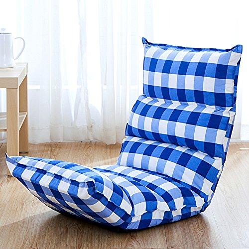 Fauteuils inclinables Feifei Lazy Chair Canapé Chaise Fold Fauteuil Fauteuil 5 Grades Réglable Balcon Chaises Jeu Chaise Paresseux Canapé Pliant (Couleur : 04)