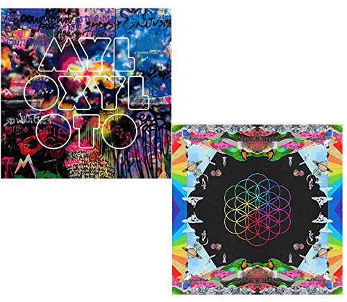Mylo Xyloto - A Head Full of Dreams - Coldplay 2 CD Album Bundling