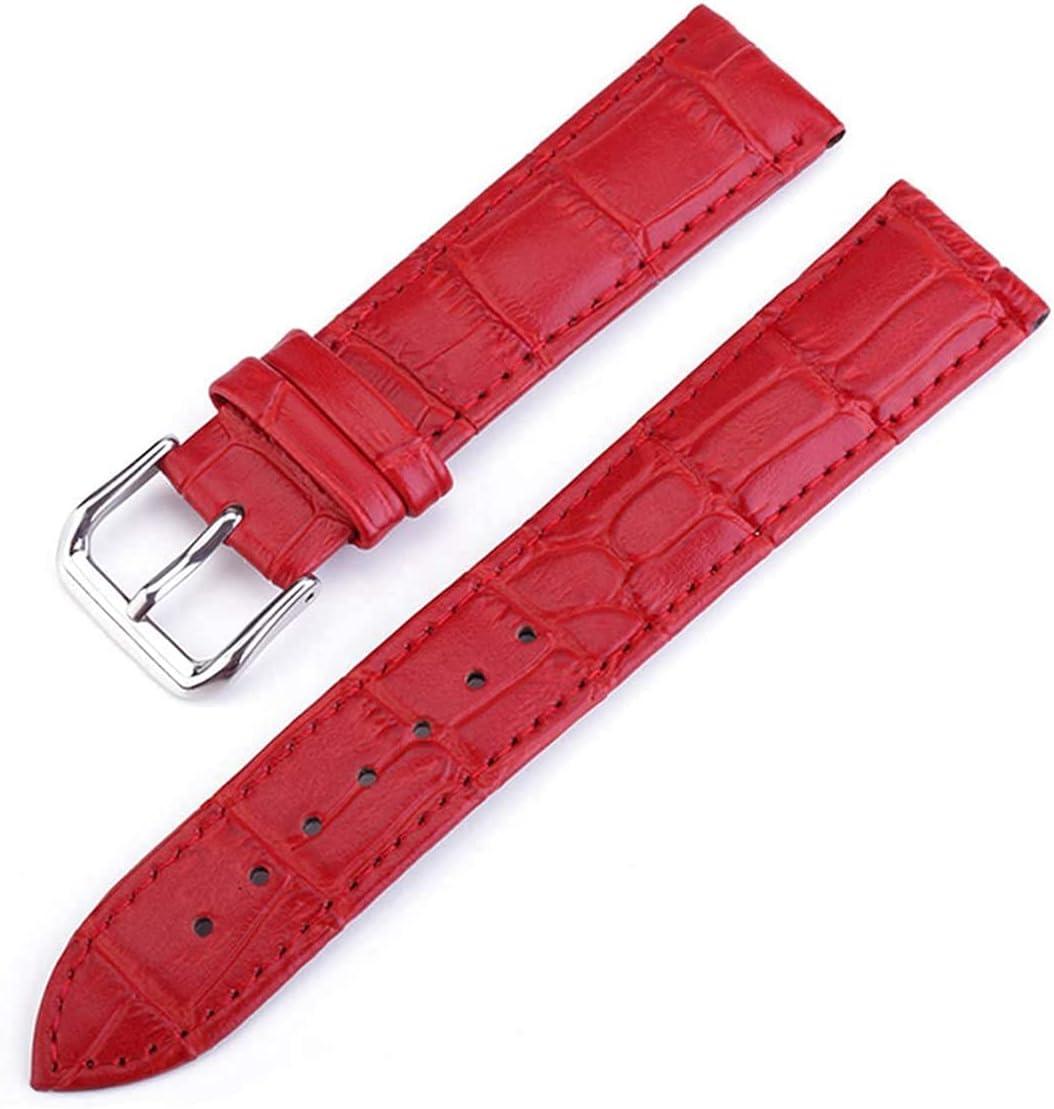 Chtom Women's Leather Watchband Pin Buck online shopping Popular brand Universal Metal