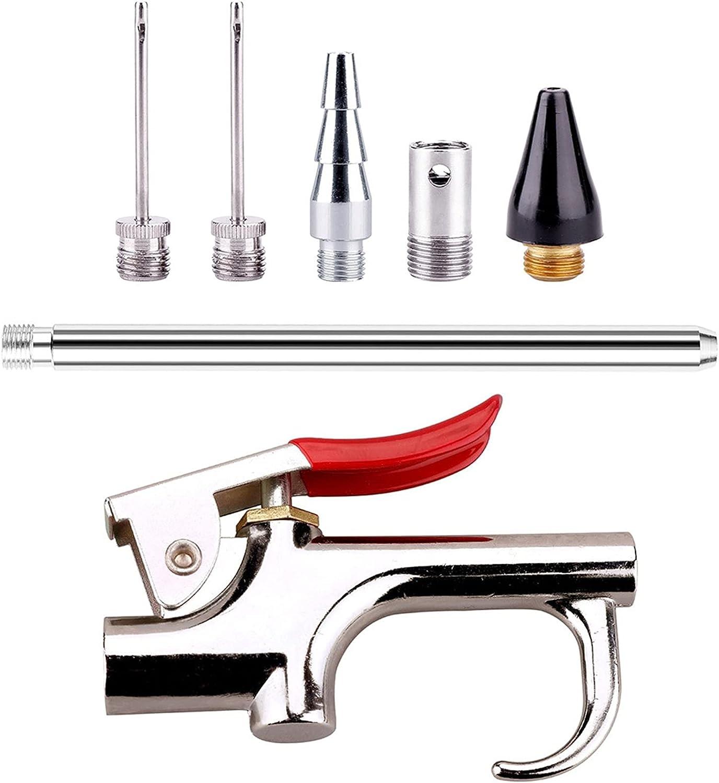 CFDYKRP 7pcs Set Air Compressor Blow Metal Gun Very popular! Inlet Ki Opening large release sale Tool