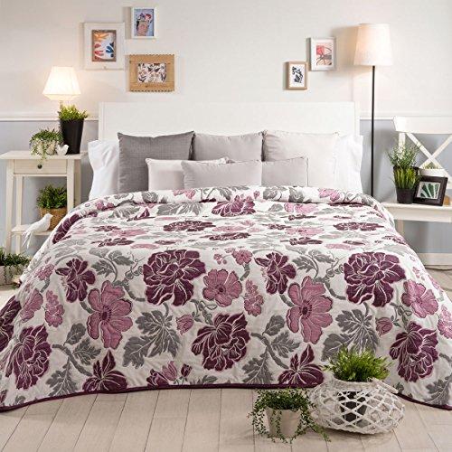 Sancarlos Tamar dekbed, polyester, paars, tweepersoonsbed, 235 x 270 x 1 cm