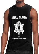 Krav MAGA Athletic Men's Essential Muscle Top Sleeveless T-Shirt Black