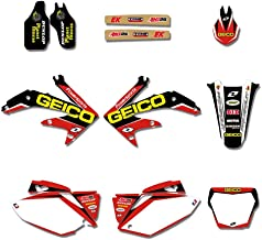 Transporter-Space - Motorcycle TEAM GRAPHIC S& BACKGROUNDS DECALS STICKERS For Honda CRF450 CRF450R 2005 2006 2007 2008 CRF 450 450R