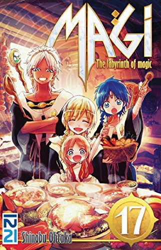 Magi - The Labyrinth of Magic - tome 17