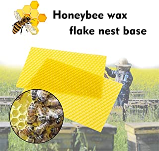Pootshop 30pcs Honeycomb Wax Frames Beehive Base Sheets Beekeeping Foundation Honey Hive Equipment Bee Supplies #BF
