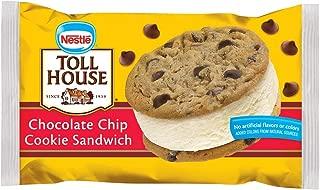 Toll House, Chocolate Chip Cookie Ice Cream Sandwich, 6 oz (Frozen)