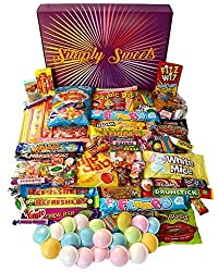 Simply Sweets Super Retro Sweet Hamper Gift Box