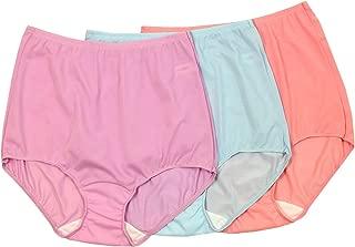 Shadowline Women's Plus Size Panties Comfort Band Briefs (3 Pack)