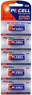 5 Pack 23A A23 23AE MN21/23 12V Alkaline Battery for Remote Control,Doorbell