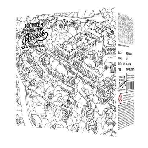 Puzzle 2100501 City Sketch   Puzzle