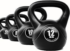 zhenxing Iron Kettlebell Weight Ballistic Exercise, Fitness Kettlebell, Home Gym Workouts, Men Women Core Fitness, Weightl...