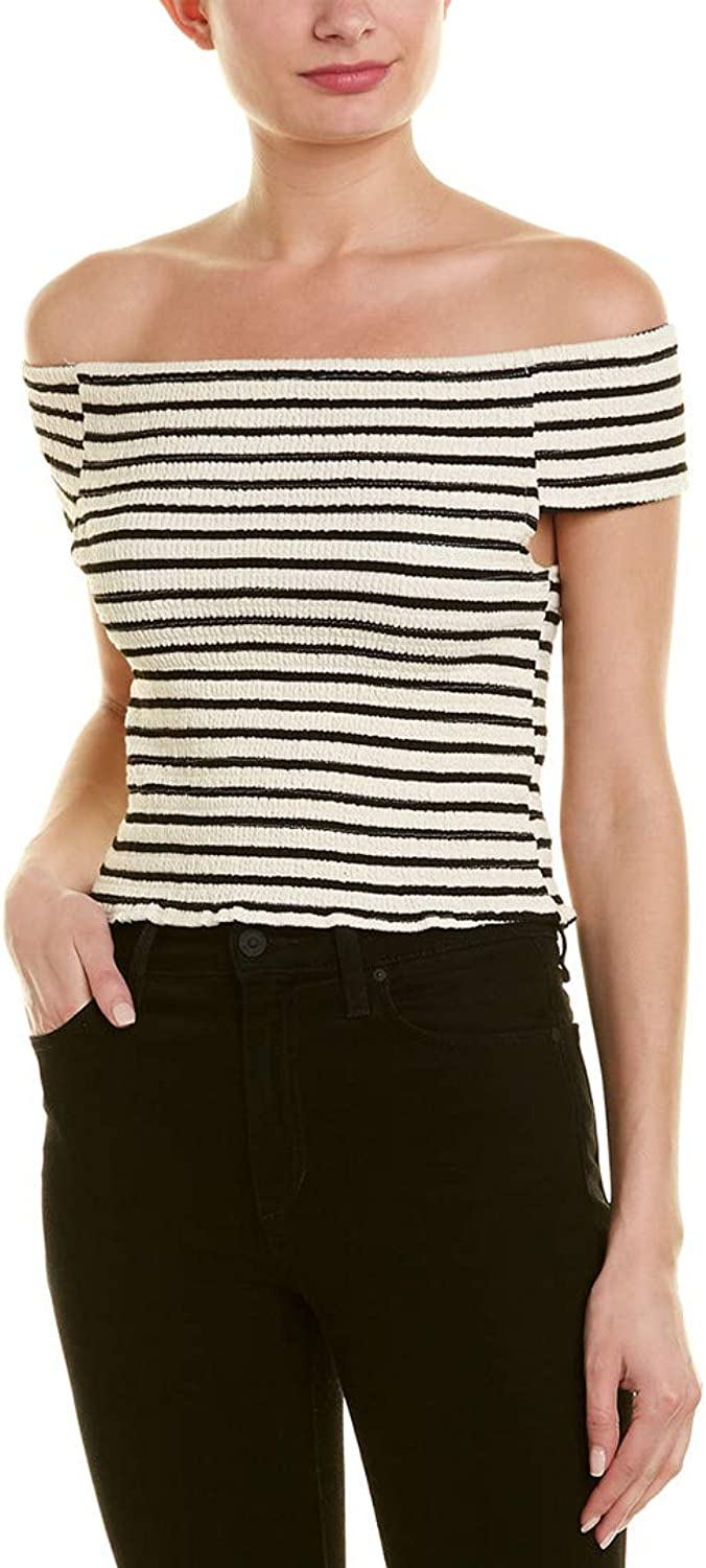 Bishop & Young Womens Stripe Tube Top