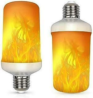 E27 Bombilla de luz de llama parpadeante LED Lámpara de noche con efecto de fuego ardiente simulado Bombillas de luz de efecto de llama LED Bombilla de llama vintage