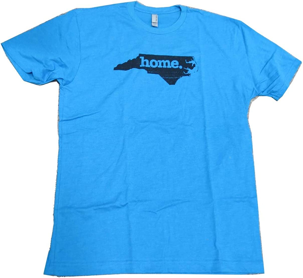 Home State NC Mens Tshirt Panthers Blue - Small