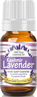 Pure Gold Kashmir Lavender Essential Oil, 100% Natural & Undiluted, 10ml