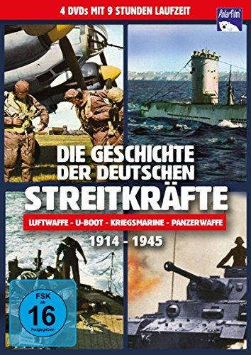 Die Geschichte der deutschen Streitkräfte 1914 - 1945 [4 DVDs]