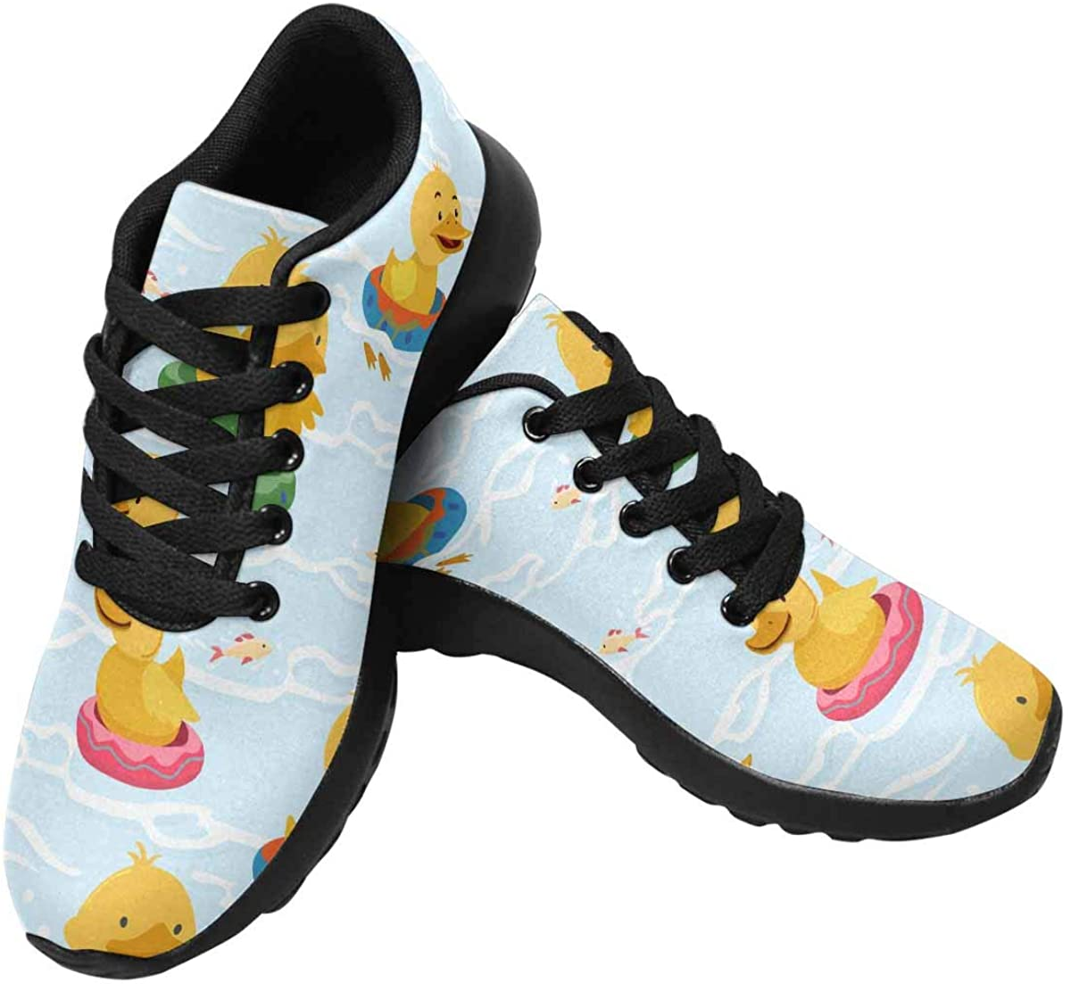 InterestPrint Women's Running Shoes - Casual Breathable Athletic Tennis Sneakers (US6-US15)