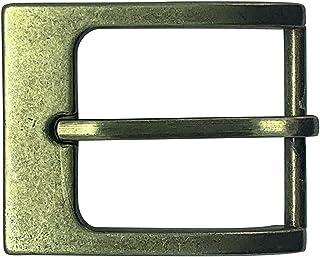 "Hawkdale Silver Leather Belt Buckle - Suitable for 40mm (1.5"") Leather Trouser Belts - UK SELLER - G01-400"