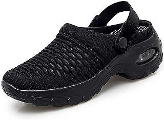 AMYGG Chaussures de Jardin en Maille pour Femmes, Baskets Décontractées Respirantes en Maille pour Femmes, Mule de Sabot, ...