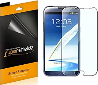 Supershieldz (6 Pack) for Samsung Galaxy Note 2 Screen Protector, High Definition Clear Shield (PET)