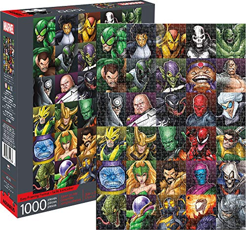 Multicolor Aquarius Marvel Avengers Cover 500 Pc Puzzle