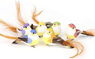 Artificial Bird Ornaments, Plant Decoration Craft Birds Artificial Bird Decor Craft Tree Decoration for Crafts for Tropica...