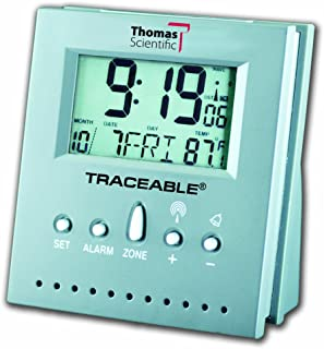 Thomas 5125 Workstation Traceable Radio-Controlled Atomic Clock, 2.5