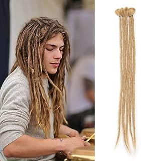 Synthetic Handmade Dreadlocks Hair Extension (20Inch,5Strands/Pack) Braiding Hair Kanekalon Reggae Hair Soft Crochet Braid
