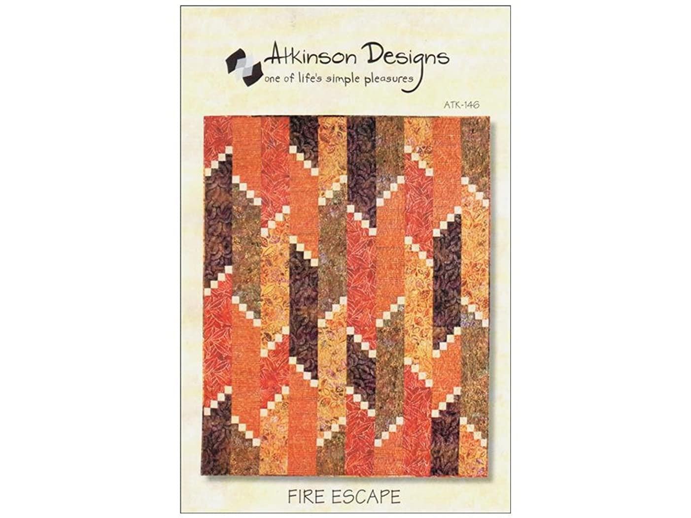 Atkinson Design ATK146 Fire Escape Pattern