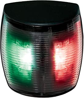 Hella NaviLED 2nm BSH Bi-Color Pro LED Navigation Lamp, Black/Red/Green