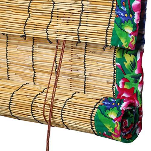 Rollläden, dekorative Vorhänge aus Bambus in römischen Farbtönen, aufrollbare chinesische Aufzugsvorhänge, Verdunkelungsdekoration für Schilf-Sonnenschutz, rustikaler Retro-Stil, dekorativ