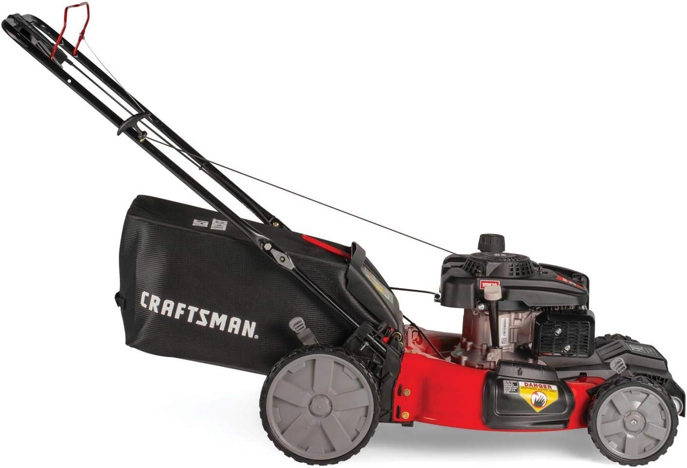 Craftsman M215 159cc 21-Inch 3-in-1 High-Wheeled FWD Self ...