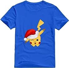 Xuruw Men's Pikachu Pokemon Swag T-Shirt Black