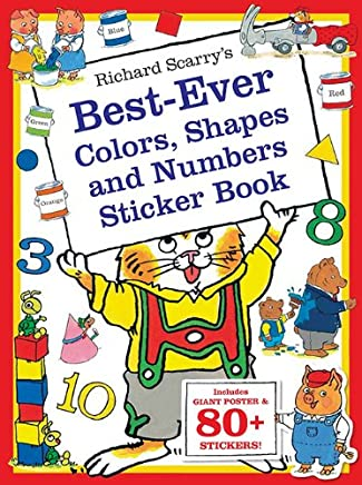 Richard Scarrys Best Ever Colors, Shapes, and Numbers