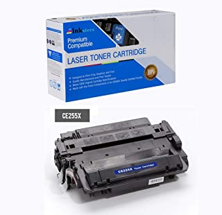 Inksters Compatible Toner Cartridge Replacement for HP 55X CE255X 55X Black - Compatible with Laserjet P3010 P3015 P3015DN P3015 P3015X P3016 Laserjet Pro M521DN MFP Pro MFP M521DW