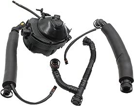 LOSTAR Crankcase Vent Valve Oil Separator with Breather Hose Kit Set fits for BMW N52 E90 E91 E60 E61 E85 E86 Replace 11617531423