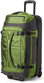 Unisex-Adult Expedition Drop-Bottom Rolling Duffel - Large, Green Re